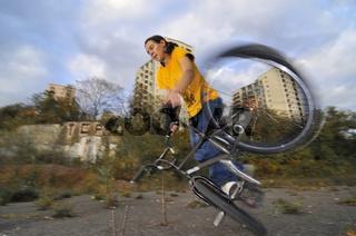 Monika Hinz, BMX Flatland Fahrerin