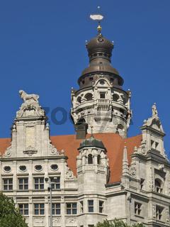 Neues Rathaus, Leipzig   New Guildhall, Leipzig