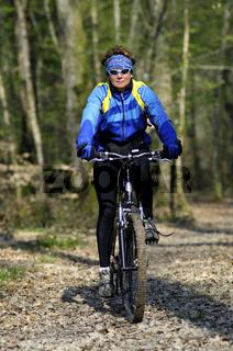 Auflug mit dem Mountainbike im Gelände