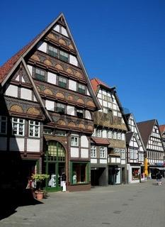 Bad Salzuflen / Fachwerkhäuser in der Salzstrasse