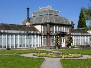 Historisches Gewächshaus in Kassel, Deutschland