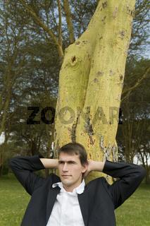 Relaxen am Baum