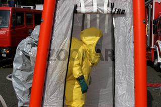 Uebung Gefahrgutunfall