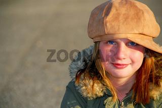 Girl winter hat