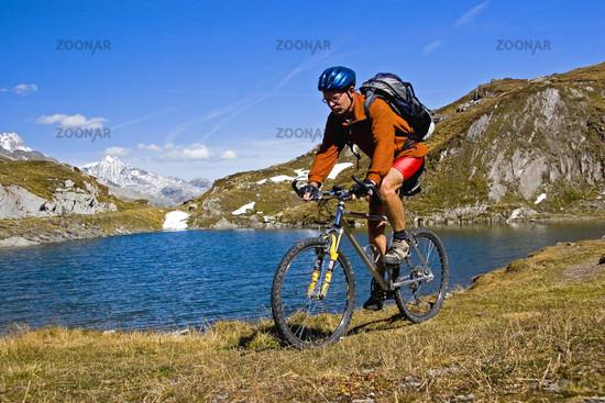 Biken am Pfitscher Joch /Mountainbiken