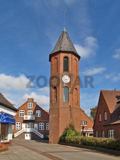 Glockenturm in Wyk auf Foehr