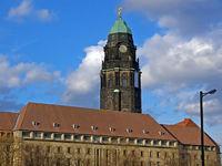 Neues Rathaus in Dresden