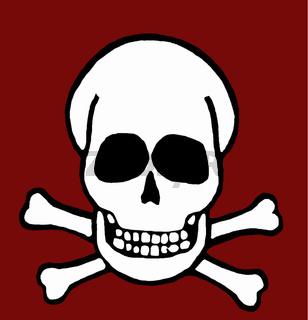 Totenkopf, a skull