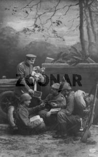 Neujahrsgrüße erster Weltkrieg