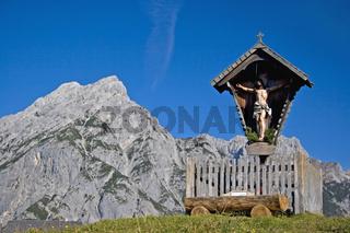 Almkreuz /wooden cross