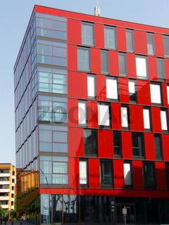 Fassade/ in rot