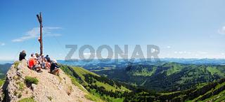 Auf dem Gipfel des Rindalphorn