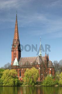 Die Kirche St. Gertrud in Hamburg