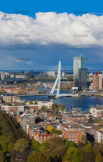 Rotterdam cityscape - Netherlands