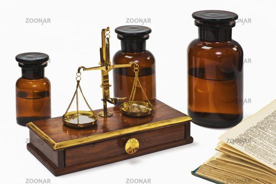 Apothekerwaage | druggist balance