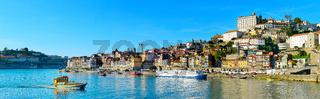 Panoramic view of Porto, Portugal