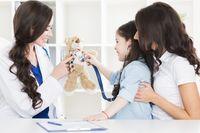 Pediatrist and child