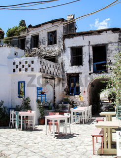 Einladende Taverne, Essen, Mediteran, Urlaub, Freizeit