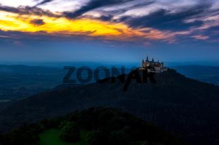 Castle Hohenzollern near Bisingen