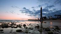 Sunset at Maspalomas Lighthouse, Gran Canaria