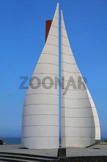 San Martin Obelisk in Paracas, Peru