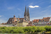Regensburg - capital of the Upper Palatinate