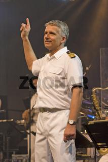 Christoph LIEDER, Leiter der Big Band der Bundeswehr