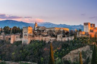 Arabic palace Alhambra in Granada,Spain
