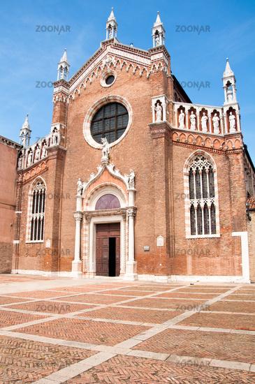 Venice, Italy, Madonna dell'Orto Church