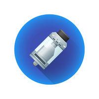 vector vaporizer atomizer device illustration