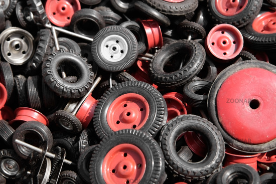 Tires for model cars