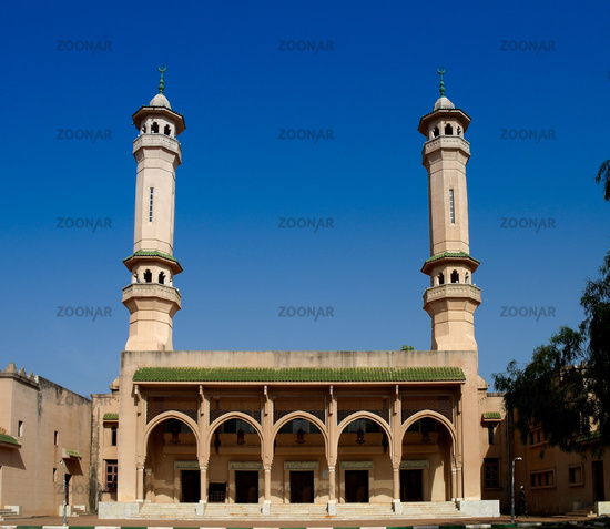 King Fahad Mosque in Banjul, Gambia