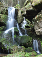Waterfall in Saxon Switzerland
