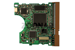 Electronic circuit boards.
