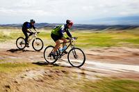 Adventure mountain bike competition
