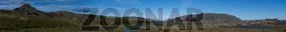 Vesturland Iceland Panorama