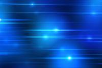 blue light streaks background