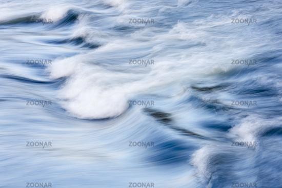Waves, Pite river, Lapland, Sweden