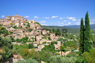 gordes at the french provence