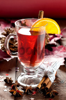 Punsch zu Weihnachten / fresh mulled wine for christmas