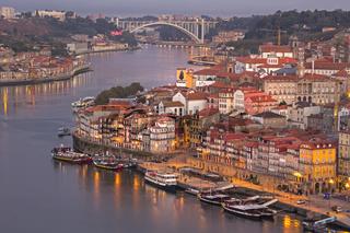 Douro und die historische Altstadt Ribeira, Porto, Unesco-Weltkulturerbe, Portugal, Europa