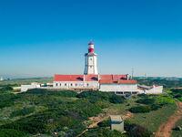 The Espichel Cape Lighthouse Sesimbra Portugal