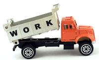 Work conceptual construction dumptruck