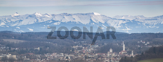 Ravensburg mit Alpenpanorama