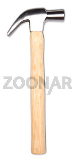 Hammer isolated on a white background