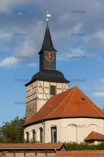 Church Braunschwende in the Harz Mountains