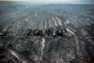 Braunkohle Tagebau in der Oberlausitz