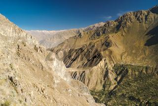 Mountain range in Peru