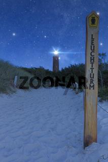 Leuchtturm Darßer Ort am Fischland Darß