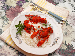 Crayfish meal